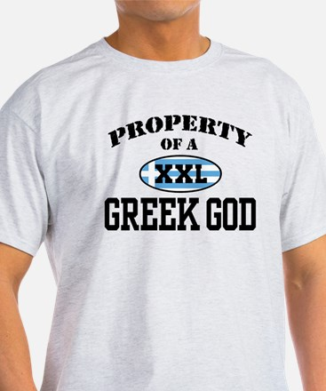 Property of a Greek God T-Shirt