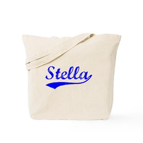 Vintage Stella (Blue) Tote Bag