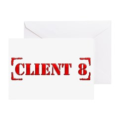 Client 8 Greeting Card