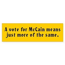 JOHN MCCAIN Bumper Bumper Sticker