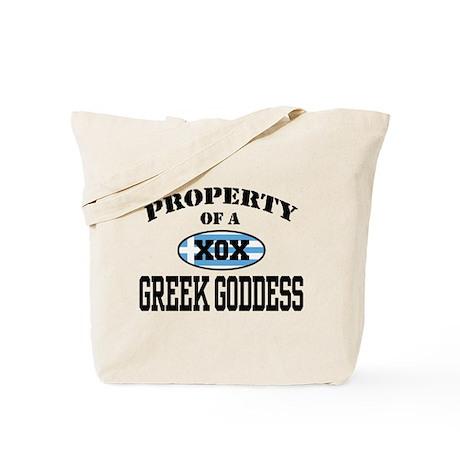 Property of a Greek Goddess Tote Bag