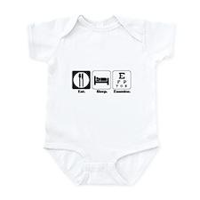 Eat. Sleep. Examine. (Eye Doctor) Infant Bodysuit
