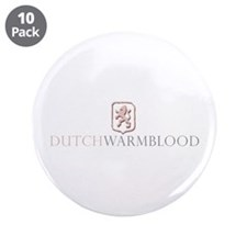 "Dutch Warmblood 3.5"" Button (10 pack)"