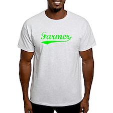 Vintage Farmer (Green) T-Shirt