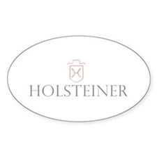 Holsteiner Horse Oval Decal
