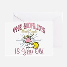 Angelic At 13 Greeting Cards (Pk of 10)