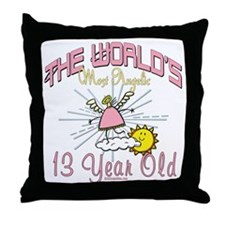 Angelic At 13 Throw Pillow