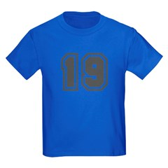 Number 19 T