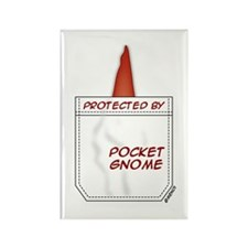 Pocket Gnome Rectangle Magnet