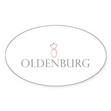 Oldenburg Horse Oval Decal