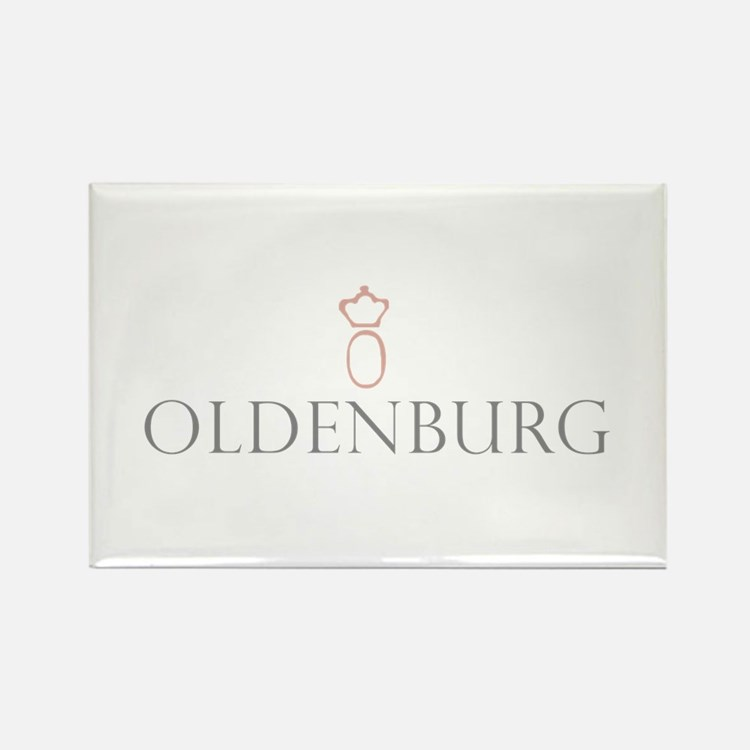 Oldenburg Horse Rectangle Magnet