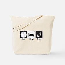 Eat. Sleep. Train. (Dog Trainer) Tote Bag