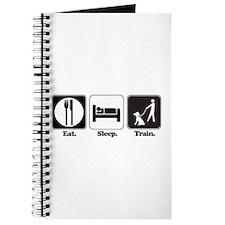 Eat. Sleep. Train. (Dog Trainer) Journal