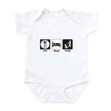 Eat. Sleep. Train. (Dog Trainer) Infant Bodysuit