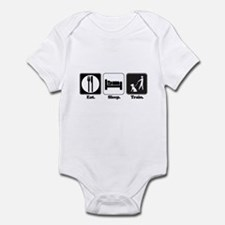 Eat. Sleep. Train. (Dog Trainer) Infant Bodysuit