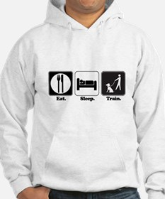 Eat. Sleep. Train. (Dog Trainer) Hoodie Sweatshirt