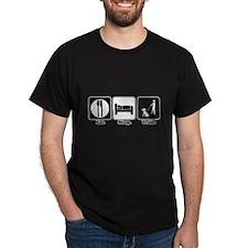 Eat. Sleep. Train. (Dog Trainer) T-Shirt
