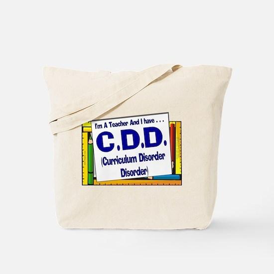 CDD! (Blu) Tote Bag