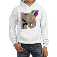 Elephant Rainbow Hoodie