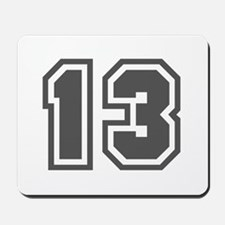 Number 13 Mousepad