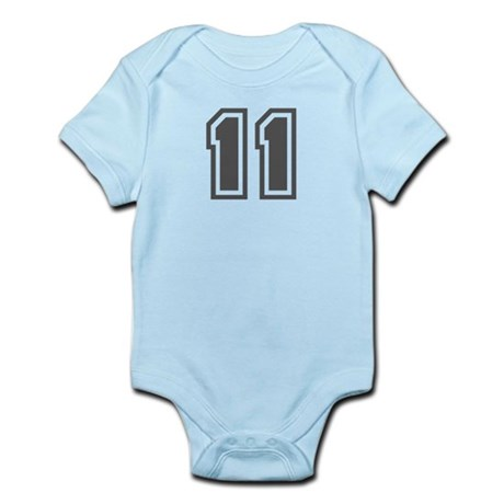 Number 11 Infant Bodysuit