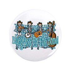 "Bluegrass Skeletons 3.5"" Button"