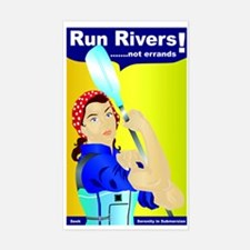 Rosie the River Runner Decal