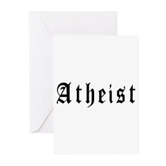 Atheist Greeting Cards (Pk of 20)