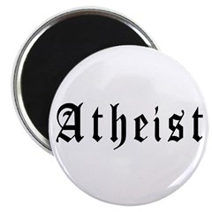 """Atheist 2.25"""" Magnet (100 pack)"""