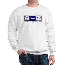 Eat, Sleep, Cross Stitch Sweatshirt