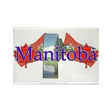 Manitoba Rectangle Magnet