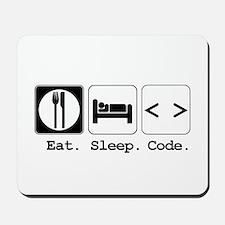 Eat. Sleep. Code. Mousepad