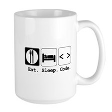 Eat. Sleep. Code. Mug