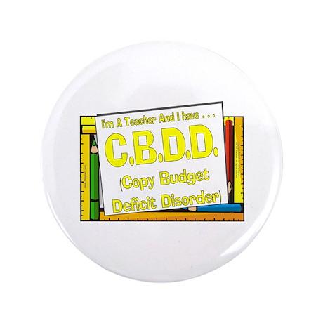 "CBDD! (Yel) 3.5"" Button (100 pack)"