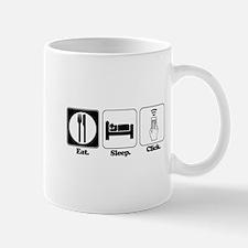 Eat. SLeep. CLick. (Remote Control) Mug