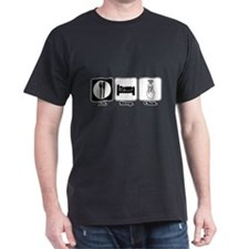 Eat. SLeep. CLick. (Remote Control) T-Shirt