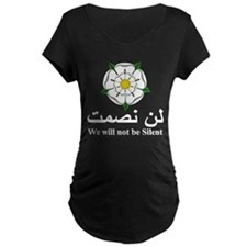 """""""We will not be silent"""" T-Shirt"""