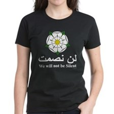 """""""We will not be silent"""" Tee"""