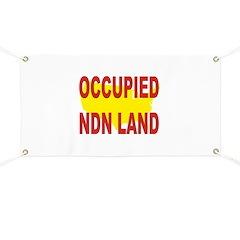 Occupied NDN Land Banner