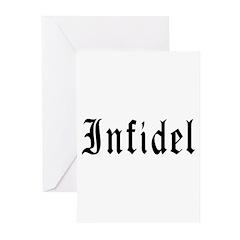 Infidel Greeting Cards (Pk of 20)