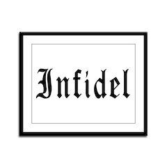 Infidel Framed Panel Print