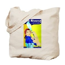 Rosie the River Runner Motivational Sayings Tote