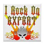 I Rock On Expert Tile Coaster