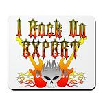 I Rock On Expert Mousepad