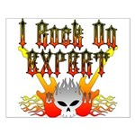 I Rock On Expert Small Poster