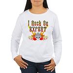 I Rock On Expert Women's Long Sleeve T-Shirt