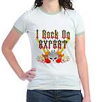 I Rock On Expert Jr. Ringer T-Shirt