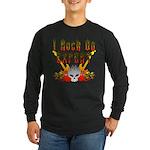 I Rock On Expert Long Sleeve Dark T-Shirt