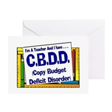 CBDD! (Blu) Greeting Card
