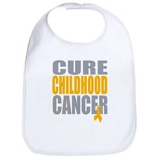 Cure Childhood Cancer Bib